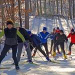 skiing at Soaring Eagle