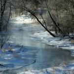 Frosty Fish Hook River