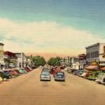 PR Main Street postcard