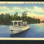 excursion boat on Lake Itasca