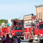 parade fire trucks